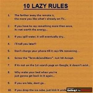 Lazy rules on Pinterest   Lazy Quotes, Funny Cross ...