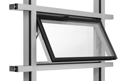 aluminum top hung window aluminum window double building materials coltd