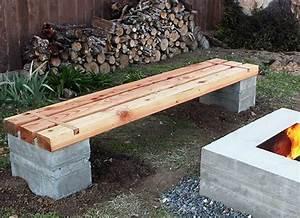 Diy Bench - Diy Wood Projects - 10 Easy Backyard Ideas