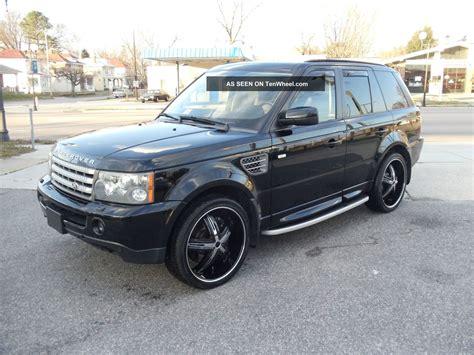 2006 Range Rover Sport Supercharged Black Dvd