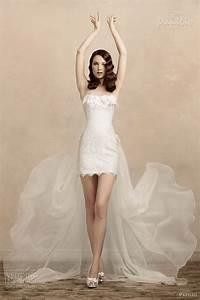 327 best short skirt wedding dresses images on pinterest With mini skirt wedding dress