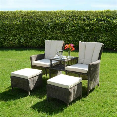 Outdoor Möbel Polyrattan by Outdoor M 246 Bel Aus Polyrattan Best 228 Ndige Gartenm 246 Bel