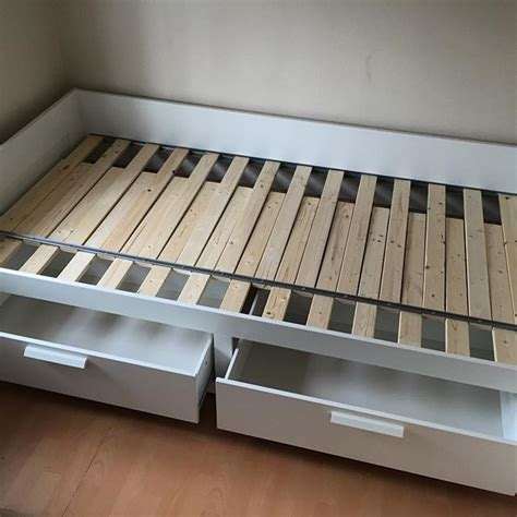 ikea brimnes day bed assembly flat pack