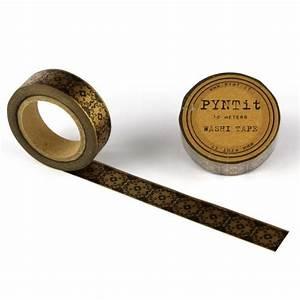 Washi Tape Schwarz : washi masking tape damask bronze schwarz ~ Eleganceandgraceweddings.com Haus und Dekorationen
