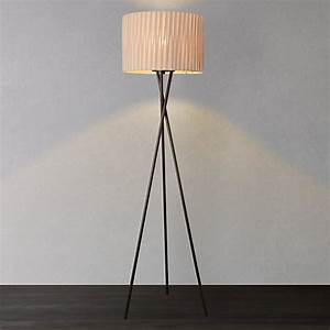 Buy john lewis malia floor lamp john lewis for John lewis malia floor lamp white