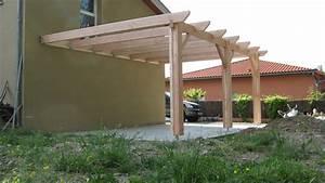 couverture de terrasse en bois 3 pergolas bois With couverture de terrasse en bois