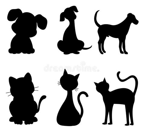 Cruelty Free Kitty Template For by Cat And Dog Stock Vector Illustration Of Artistic Canine