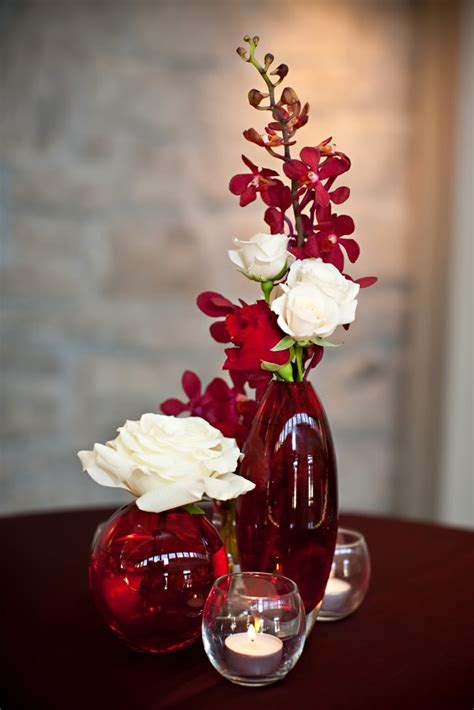 15 Romantic Red Wedding Centerpieces Ideas 19319