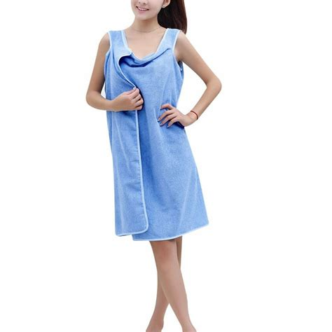 Shower Rob Swimwear Shower Spa Bath Wrap Robe Towel Bathrobe For