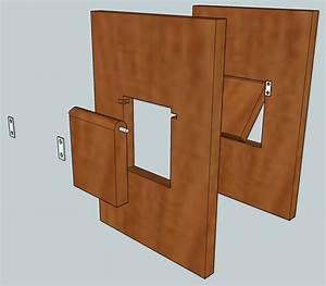 diy doggie door in wall diy do it your self With how to make a dog door