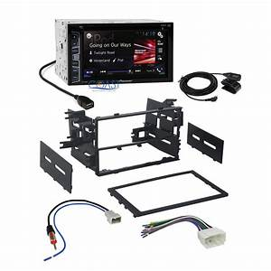 Pioneer 2016 Radio Stereo Double Din Dash Kit Wire Harness