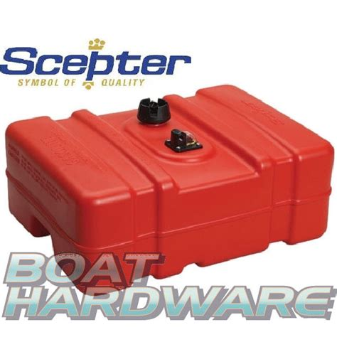 Boat Fuel Tanks Australia by Scepter Fuel Tank Plastic With Low Profile 45 Litre