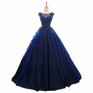navy blue wedding dresses promotion shop for promotional With dark blue wedding dress