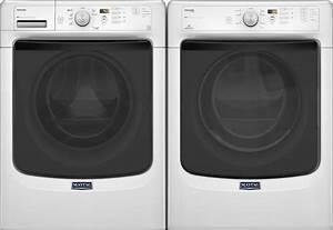 Maytag Mhw5100dw Front Load Washer  U0026 Med5100dw Electric Dryer
