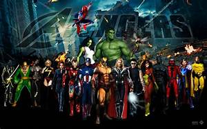 The Avengers Dream Team Wallpaper V.4 by lesajt on DeviantArt