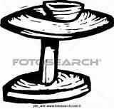 Potter Clipart Wheel Clip Rad Toepfer Kegler Fotosearch sketch template