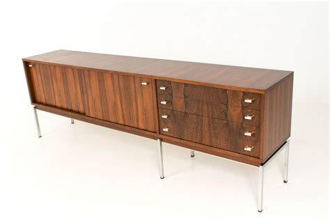 Large Mid-century Belgian Rosewood Credenza, 1960s For