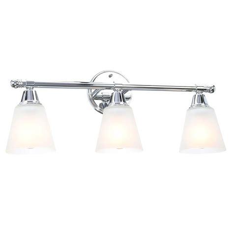 hton bay vanity light hton bay 3 light chrome bath light gjk1393a 4 cr the