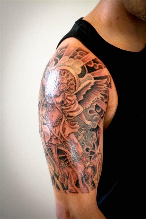 tattoos halfsleeve tattoo black  gray tattoo st