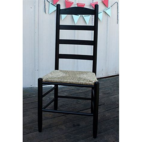 black ladder back chairs with seats 42 in woven seat ladderback chair black coconuas232 9771