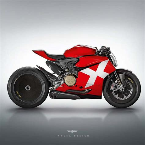 Ducati Concept Bikes By Jakusa Design Are Out Of This