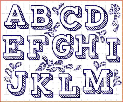 how to make fancy letters fancy letters to draw letter fonts free 13 52655