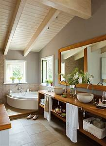 Holz Im Badezimmer : badezimmer waschtisch holz design ~ Lizthompson.info Haus und Dekorationen