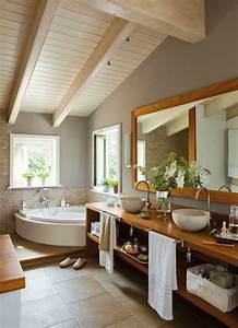 70 einmalige modelle von waschtisch aus holz archzinenet for Salle de bain design avec décoration de table exotique