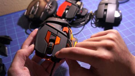 Madcatz Cyborg Mmo 7 Gaming Mouse Review Youtube