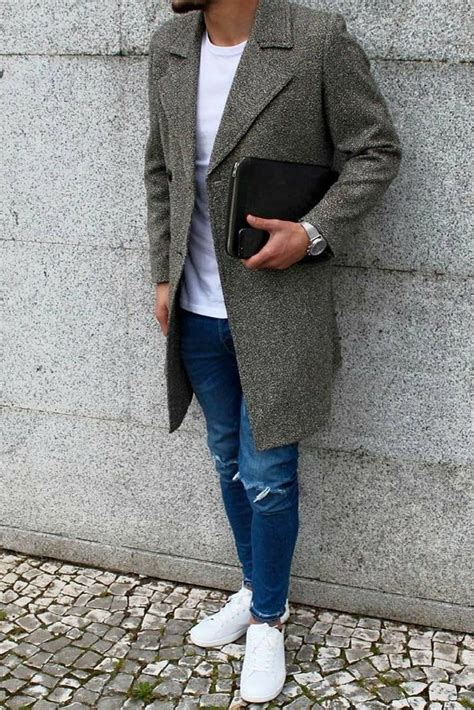How Wear Long Coats For Men Overcoat Outfits
