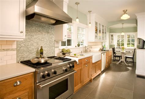 two coloured kitchen cabinets west tabor house contemporary kitchen portland by 6425