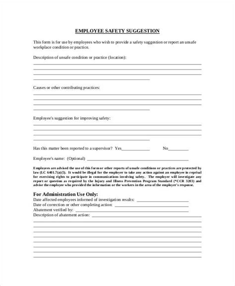 9+ Employee Suggestion Forms & Templates  Pdf, Word. Brochure Layout Templates Free Download. Sample Referral Cover Letters Template. Maximum Ride Book Cover. Microsoft Office Calendar Template 2017 Template. Personal Statement Business Management Template. Good Luck Messages For Presentation. Online Family Tree Maker With Pictures Template. Flyers Templates