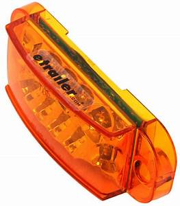 Miro-flex, Led, Trailer, Side, Marker, Light, And, Mid-ship, Turn, Signal, -, Submersible