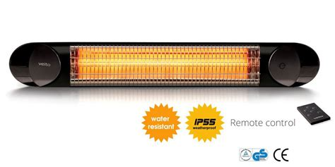 outdoor infrared heater veito blade s the barbecue store