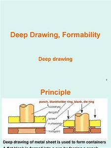 E2 Deep Drawing