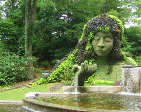 Die Garten Oder Der by Lustige Gartenfiguren Oder Die Topiary Kunst