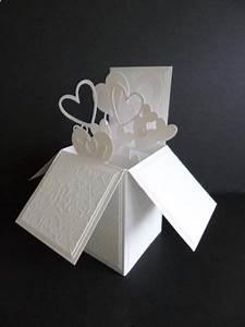 17 best images about kartki z okazji slubu on pinterest With pop up box wedding invitations