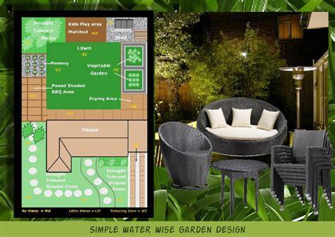 water wise garden design sleboard