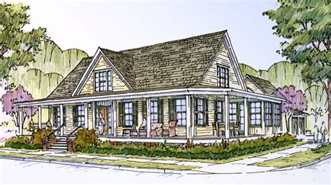 cottage farm southern living house plans farmhouse cottage living house