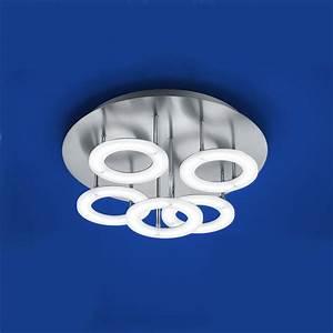 Deckenleuchte Led Dimmbar : b leuchten mica led deckenleuchte dimmbar 70290 5 92 leuchtenking ~ Frokenaadalensverden.com Haus und Dekorationen