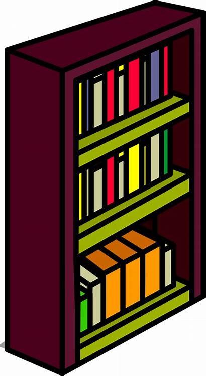 Clipart Shelf Bookshelf Transparent Bookcase Books Penguin
