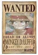 General   Other - Boun...One Piece Shanks Crew Bounty