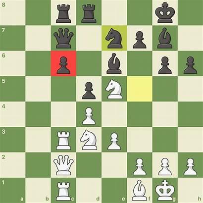 Pawn Backward Chess C6