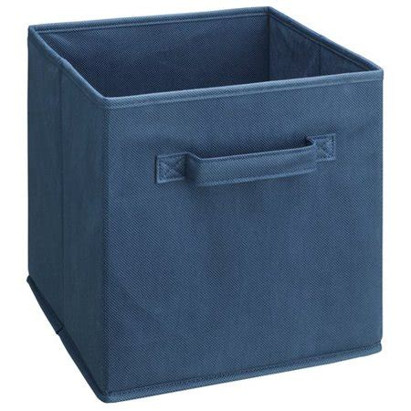 closetmaid fabric drawers closetmaid blue fabric drawer walmart
