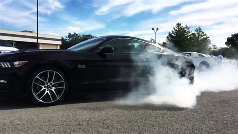 mustang gt burnout  sct performance youtube