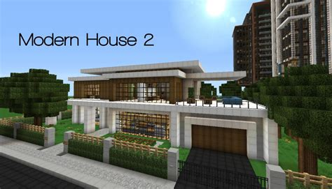image thistle modern house 15 minecraft project