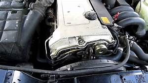 Replaced Water Pump And Belt On Mercedes W202 C280