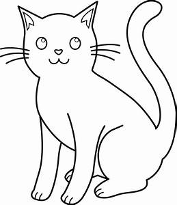Cat And Dog Black And White Clipart - Clipart Suggest