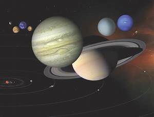Why are all the planets different colours if they formed ...