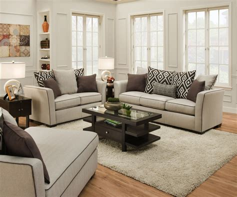 Linen Sofa by Stewart Linen Sofa And 4202 Living Room Sets